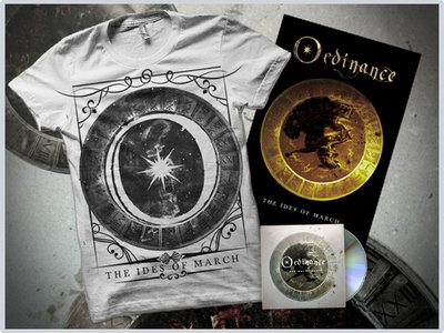 """""""The Ides Of March"""" CD + White Tshirt + Poster main photo"""
