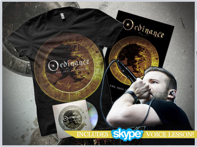 """The Ides Of March"" CD + Gold Tshirt + Poster + Online Voice Lesson (30min) main photo"