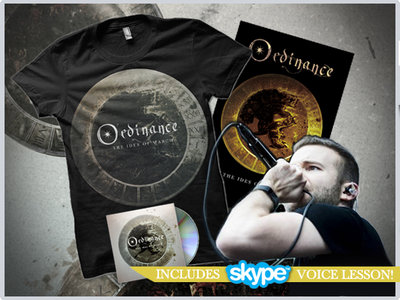 """""""The Ides Of March"""" CD + Silver Tshirt + Poster + Online Voice Lesson (30min) main photo"""