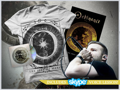 """The Ides Of March"" CD + White Tshirt + Poster + Online Voice Lesson (30min) main photo"