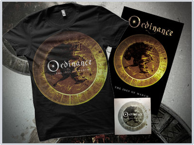 """The Ides Of March"" Digital Album + Gold Tshirt + Poster main photo"