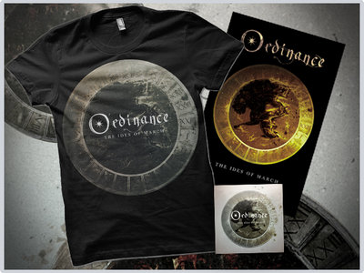 """""""The Ides Of March"""" Digital Album + Silver Tshirt + Poster main photo"""