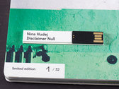 Nina Hudej: Disclaimer Null – Limited Edition USB booklet photo