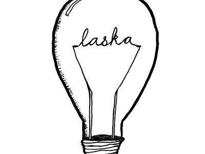 Laska Lightbulb Sticker main photo