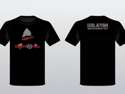 "T-Shirt ""ISOLATION"" (GIRLIE) + CD nach Wahl + 3 EAF-Button main photo"