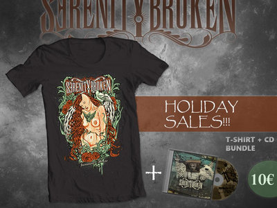Tattooed Heart Tee + Commercial Suicide CD Combo main photo