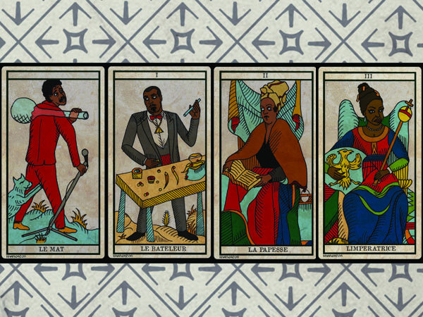 THE BLACK POWER TAROT by KHANEATON | King Khan