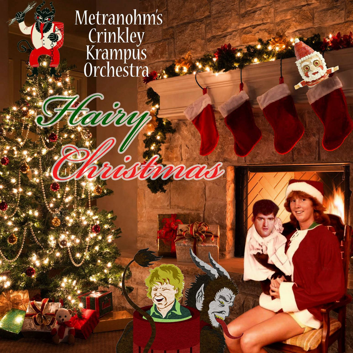 Hairy Christmas | Metranohm\'s Crinkley Krampus Orchestra