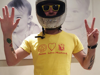 Peace Love Mustard T-Shirt (with 'DIJON 5' on the back) main photo