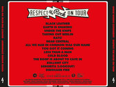 Respect The Rock On Tour CD photo