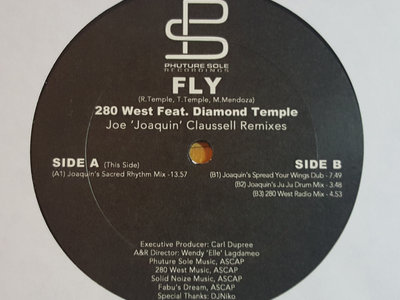 "FLY- 280W feat. Diamond Temple - 12"" Vinyl Release main photo"