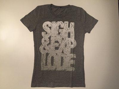 Logo T-shirt melange grey (W) main photo