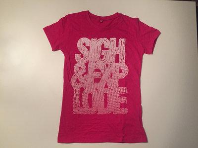 Logo T-shirt pink (W) main photo