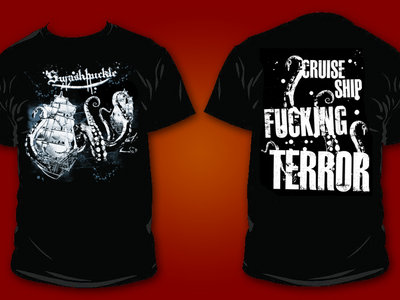 CRUISE SHIP TERROR Tee (70K Tons Exclusive!) (LAST ONE!) main photo