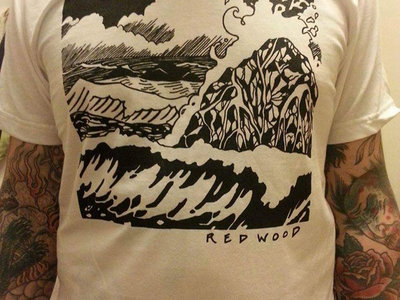 "Red Wood - ""Weeping Waves"" T-shirt by Alicia Toldi main photo"