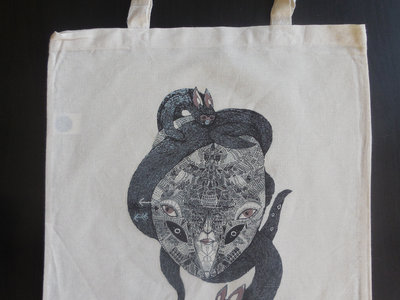 Organic Cotton Tote Bag Featuring Slavaki - Daydreaming Album Artwork (free when buying 4+ items) main photo