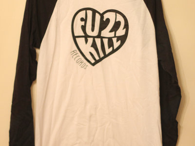 Fuzzkill heart logo long sleeve baseball tee main photo