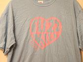 Fuzzkill heart logo t-shirt photo