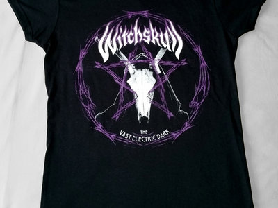 Witchskull -The Vast Electric Dark Pentagram Women's T-Shirt main photo