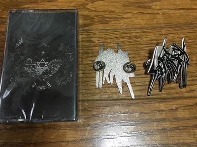Logo metal pin main photo
