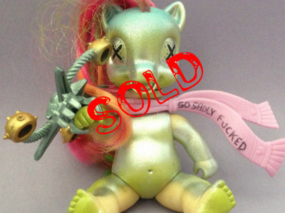 SOLD!!! Monsters of the Neighborhood ACTION FIGURE #74 - Baby Death Rattle main photo