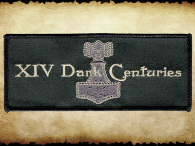 Aufnäher / Patch:  XIV Dark Centuries - Logo main photo