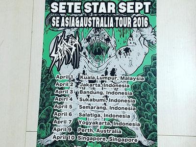 SETE STAR SEPT SE ASIA&AUSTRALIA tour 2016 poster main photo
