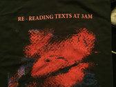 RE - READING TEXTS AT 3AM SHIRT photo