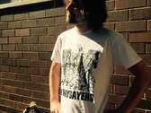 The Naysayers 'Toon' T-Shirt (White) photo