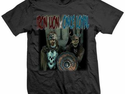 IRON LION x ONCE LOYAL t-shirt main photo