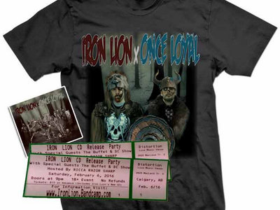 RELEASE PARTY COMBO - T-shirt + Signed CD + Ticket to the show main photo