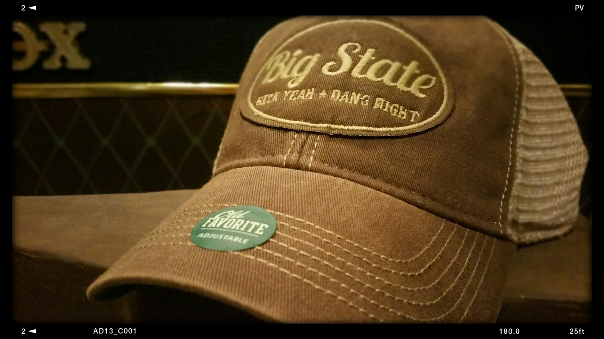 Big State - Old Favorite Trucker Hat by Legacy Athletic  8986ae3b837