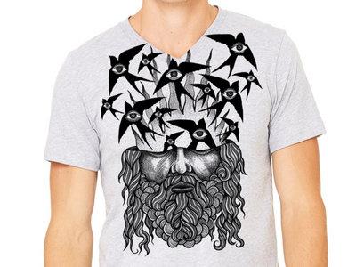 "Radio Birds ""Bird Brain"" t-shirt main photo"