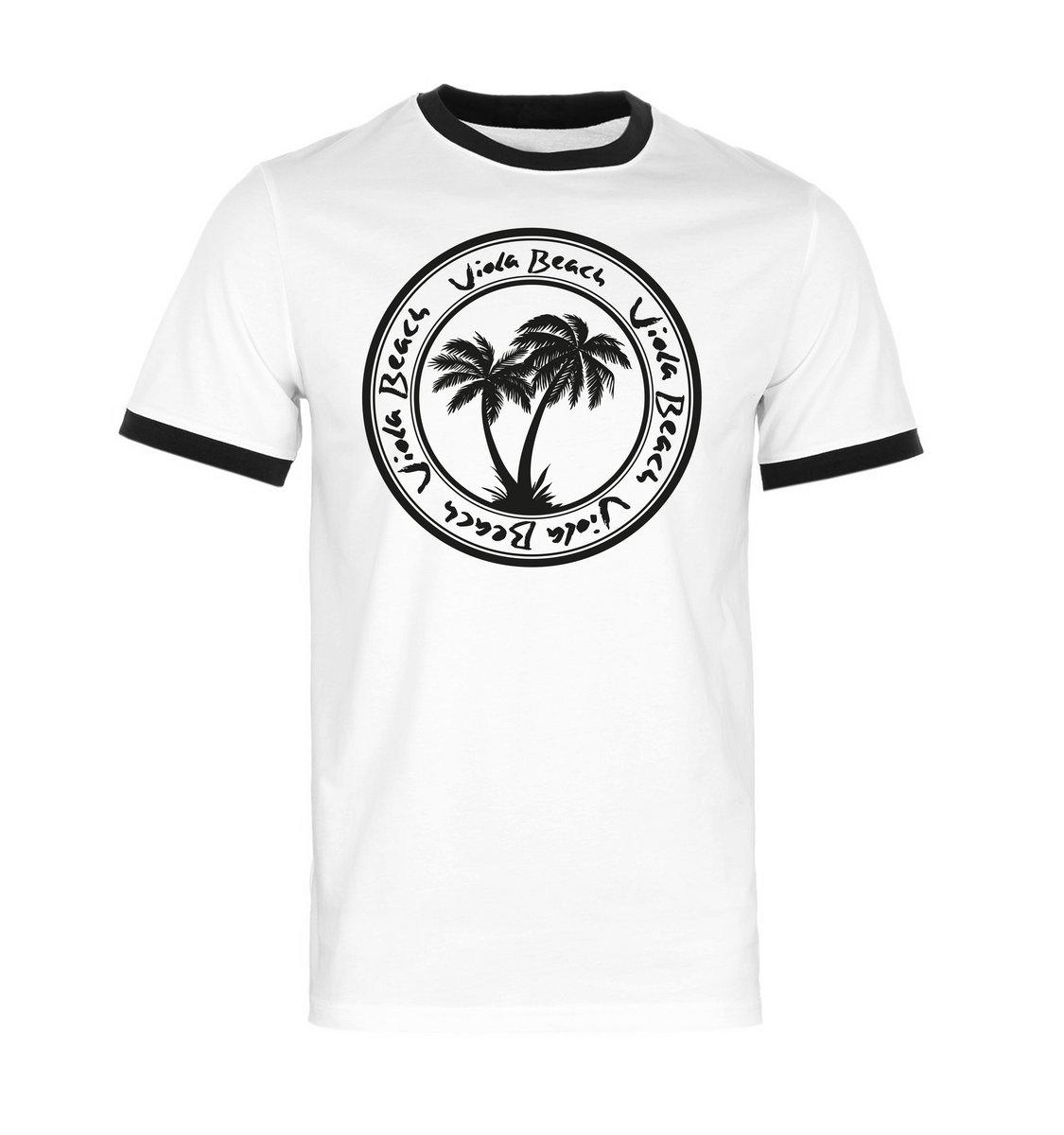 Ltd edition viola beach logo tee pre order viola beach for Where to order shirts with logos