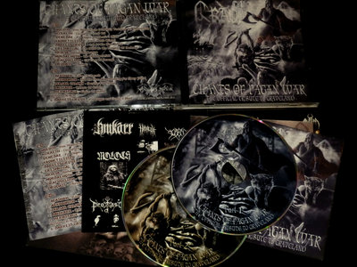 "V/A - ""Chants of Pagan War"" - The Official Tribute to GRAVELAND (DOUBLE CD) main photo"