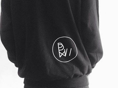 - ONLY SIZE XL - Black Jumper - white logo // White Jumper - black logo main photo