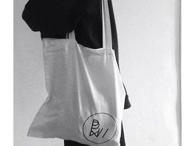 Black Vinyl Bag - white logo // White Vinyl Bag - black logo main photo
