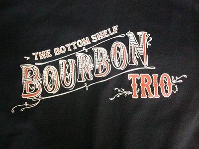 The Bottom Shelf Bourbon Trio logo t-shirt main photo