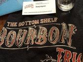The Bottom Shelf Bourbon Trio logo t-shirt photo