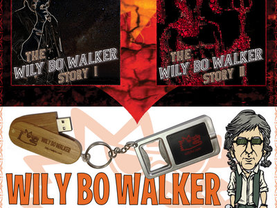 The Wily Bo Walker Story Special Limited Edition USB Drive main photo