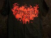 Burning Blood Shirt (S, M) photo