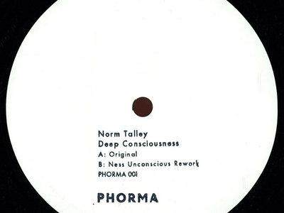 "12"" vinyl RP - PHORMA001 - Norm Talley - Deep Consciousness (incl. Ness Remix) main photo"