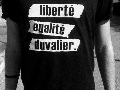 T-Shirt DUVALIER main photo