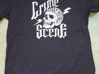 Men's Skull Soft Black T-shirt main photo