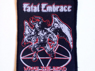 Wake The Dead - woven patch main photo