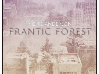 frantic forest -Cover art (limited edition print) signed by the artist and numbered to order main photo