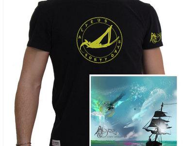 Physical CD & T-Shirt Bundle (Forty Days at Sea) main photo