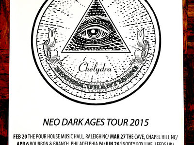NEO DARK AGES TOUR 2015 PÓSTER main photo