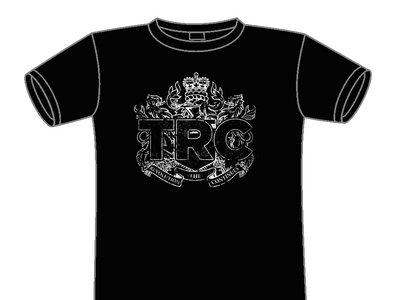Distressed Crest black t-shirt main photo