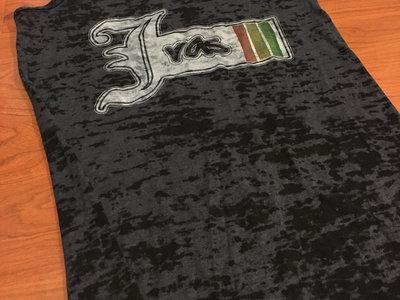 """J Ras Logo"" Ladies Racerback Burnout Tanktop main photo"